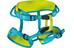 Edelrid Finn II - Arnés de escalada Niños - verde/azul